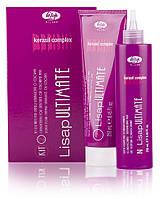 Набор перманентного выпрямления Lisap Ultimate Kit 2 для окрашенных или чувствительных волос 250 мл + 250 мл