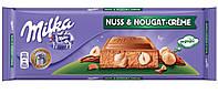 Шоколад Milka Nuss&Nougat-Creme 300г