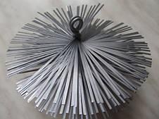 Щетка для чистки дымохода LUX ф130 металлическая под резьбу, фото 2