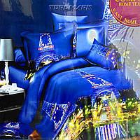 """Полуторный комплект постельного белья Lux Comfort - прост.160 х 220, - под. 150 х 210 """"Париж"""""""