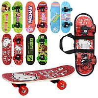 Скейт, скейборд детский Мультик , размер доски 43-13-5см