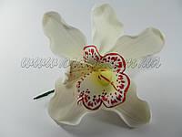 Цветок орхидея Ø 110 мм (разные цвета)