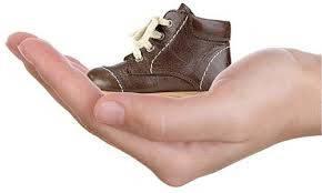 Как  определить размер детской обуви.