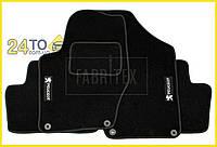 Ворсовые коврики Peugeot 3008, Полный комплект, (хорошее качество), Пежо 3008