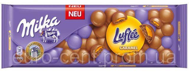 Шоколад Milka Luflee Caramel 300г