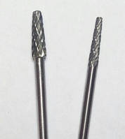 """Борфреза, тип """"L"""", Конус с закругленной головкой, 6 мм, хвостовик 3мм"""