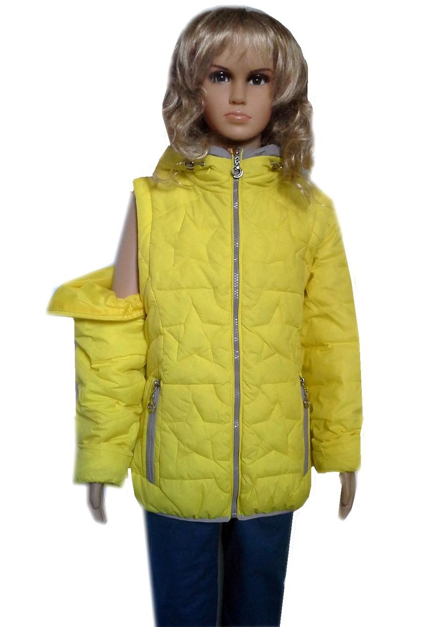 Куртка-жилетка 5-6 лет
