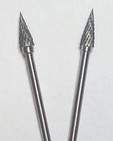 "Борфреза, тип ""М"", Конус, 6 мм, хвостовик 3мм"