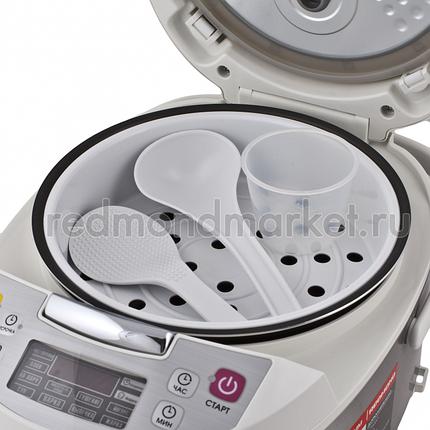 Мультиварки Redmond RMC-M4500 белый, фото 2