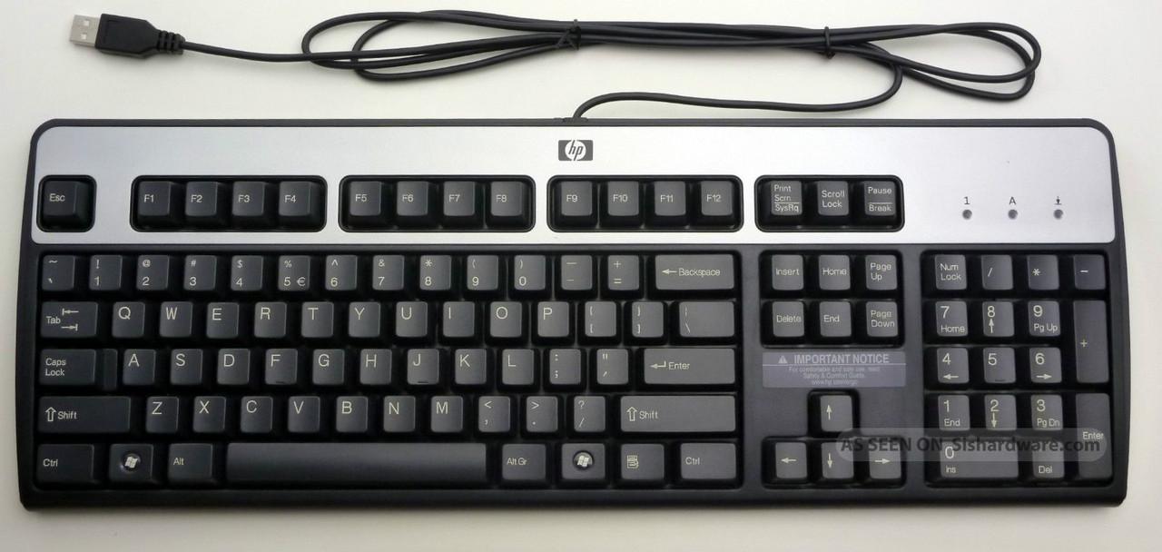 Клавиатура USB - HP KU-0316