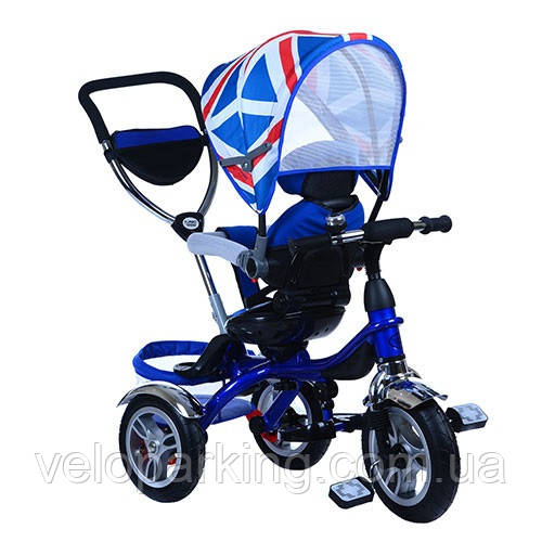 Велосипед детский трехколесный Turbo Trike M 3114-1A (Eng)