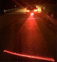 Задний автомобильный светодиодный лазерный туман света проэктор  FOG-light