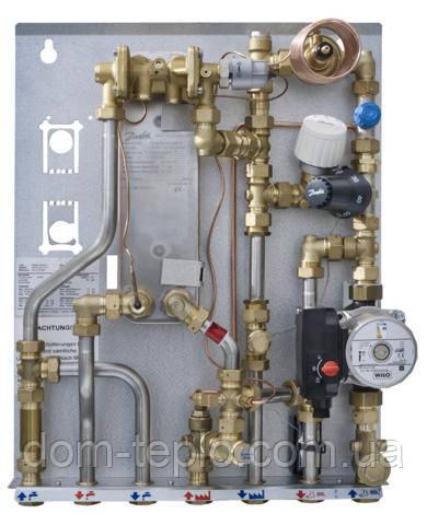 Квартирный тепловой пункт для зависимого отопления и ГВС Danfoss Akva Lux II S-F type 2 (XB 06H-1-26) 37 - 45