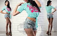 Женская футболка 03055