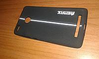 Накладка Xiaomi Redmi 3 3s 3 pro Remax Soft Touch Sport черная