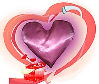 Еней-Плюс Подушка декоративная сердце (0006)