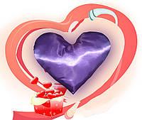 Еней-Плюс Подушка декоративная сердце (0002)