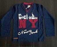 """Кофта для мальчика Нью Йорк """"Город NY"""", 5-9 лет"""