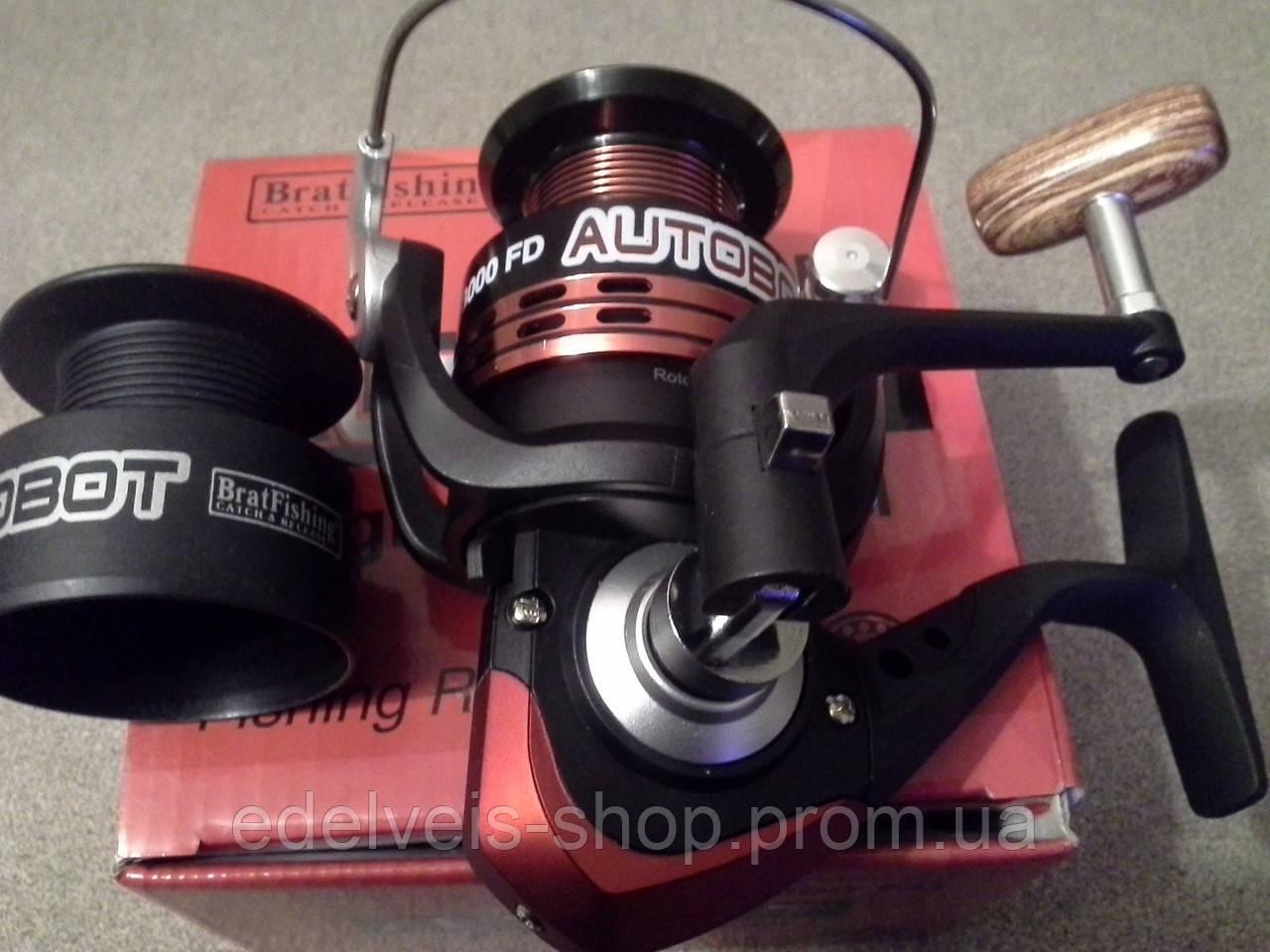 Катушка спиннинговая Bratfishing Autobot 3000 FD 3+1 BB