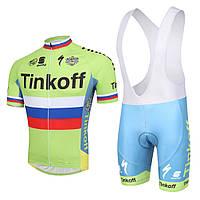 Велоформа Tinkoff 2016 bib v1