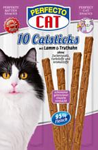 Лакомство для кошек Perfecto Cat (ягненок индейка) в ассортименте 5г 1шт