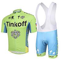 Велоформа Tinkoff 2016 bib v2