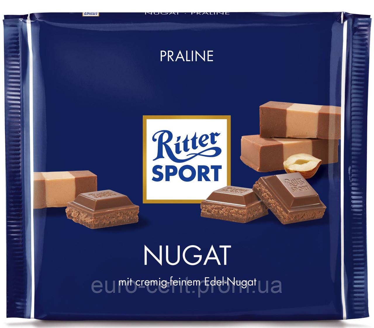 Шоколад Ritter Sport Nugat 250g
