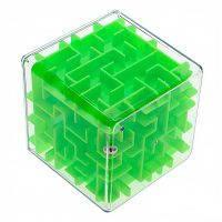 Куб-лабиринт с шариком 8х8 см