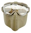 PRO GOGGLE тактическая маска с вентилятором(страйкбол,пейнтбол), фото 3