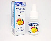 Жидкость для парения VAPES™, Манго