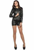 Стильный женский черный костюм  SO-13180-BLK  ТМ Alpama  42-46 размеры