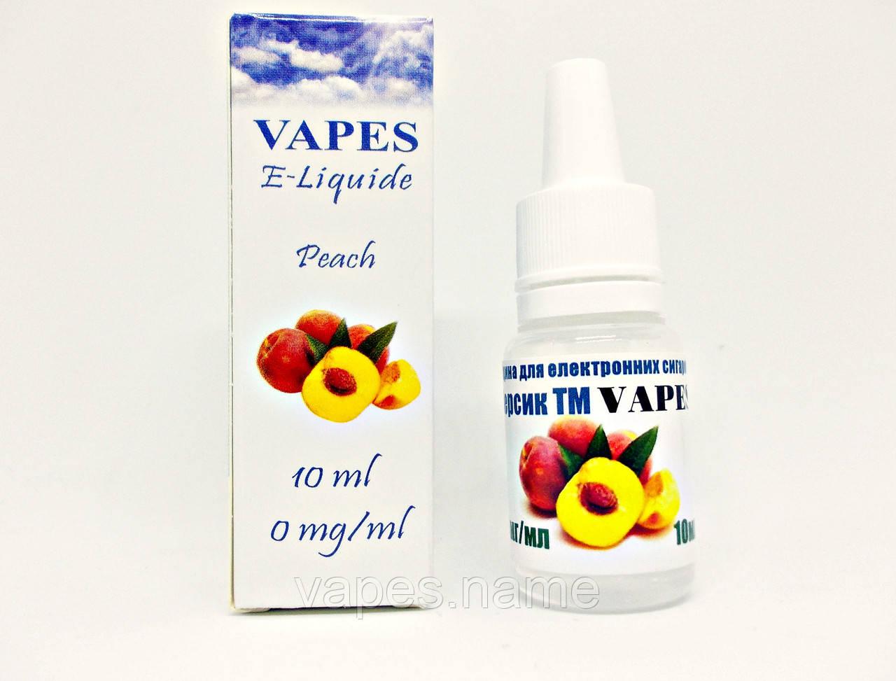 Жидкость для парения VAPES™, Персик
