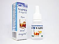 Жидкость для парения VAPES™, Ром
