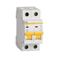 Автоматический выключатель ВА 47-29 2P 4,5-10А х-ка С, IEK