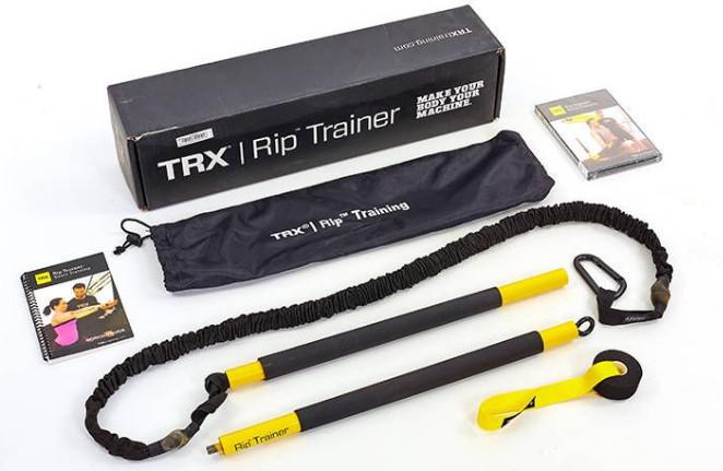 Палка гимнастическая с амортизатором TRX Rip Trainer FI-3728-07. Суперцена!