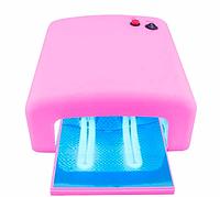 Ультрафиолетовая гель-лампа W-818, лампа для сушки гель-лака на 36 Вт