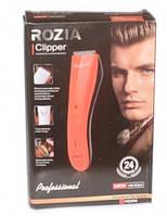 Аккумуляторная машинка триммер для стрижки волос Rozia HQ 206