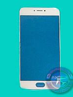 Дисплейное стекло Meizu Pro 6  White