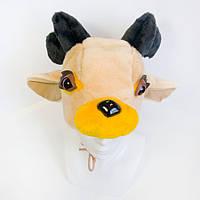 Новогодняя маска Олененок