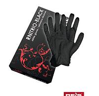 Нитриловые перчатки черного цвета. От 12 шт. заказ