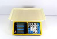 Весы торговые ACS 40kg/5g Domotec 4V MS-266, настольные электронные весы для торговли