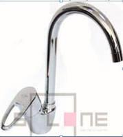 Смеситель на кухню высокая боковая SOLONE LOP4 C181