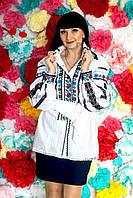 Блуза женская с вышивкой БЖ 30-16/05
