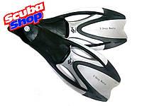 Ласты Dolvor X-Deep Manta с закрытой пяткой, цвет серый