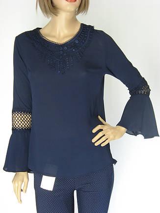 Блуза шифонова рукав волан Siradasi , фото 2
