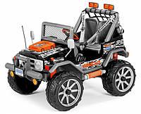 Детский электромобиль внедорожник Peg-Perego Gaucho Rock'in оранжевый
