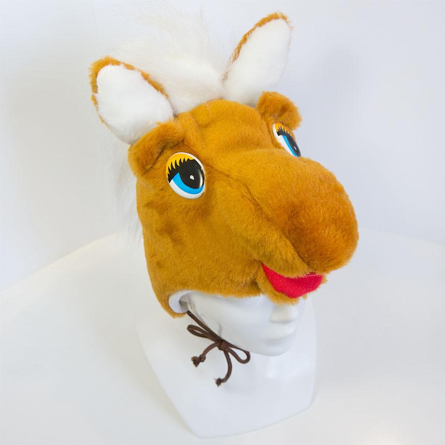 Новогодний маскарадный костюм маска Лошадка Пони
