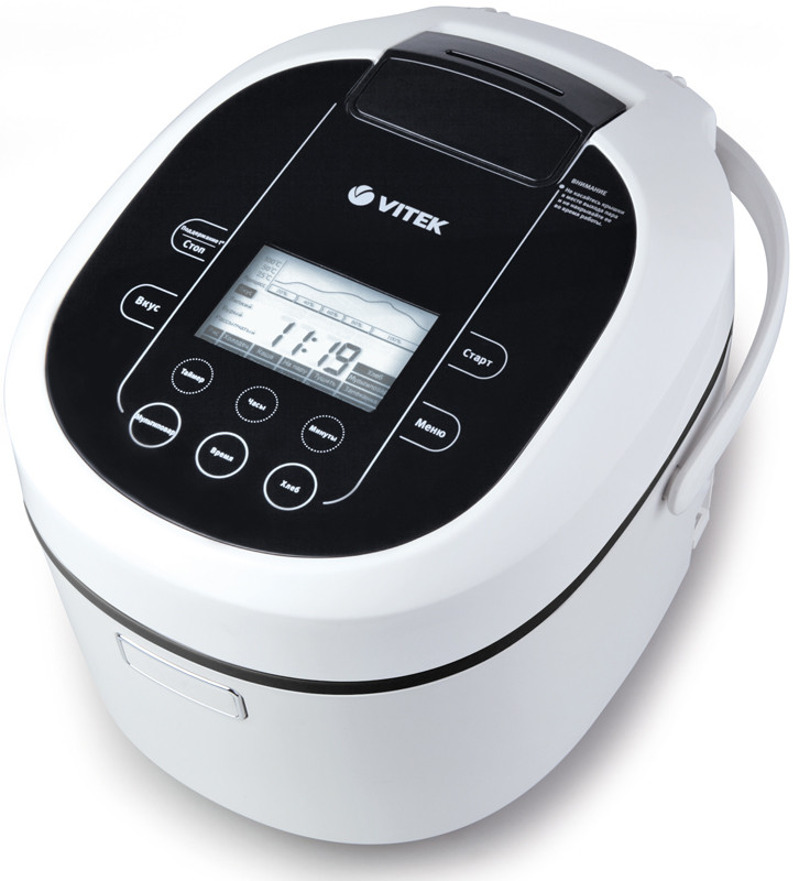 Мультиварки Vitek VT-4205 белый/черный