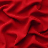 Ткань креп - шифон - цвет красный