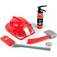 Шлем пожарника и акссесуары (игровые)
